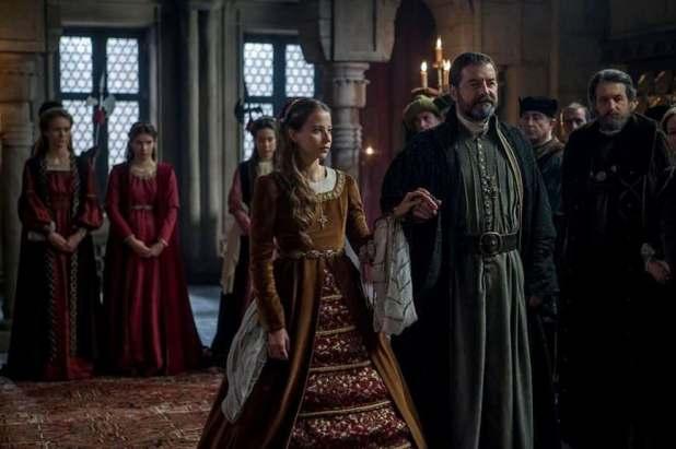 Isabel 3x04 - La Infanta Juana en su boda por poderes con Felipe de Borgoña