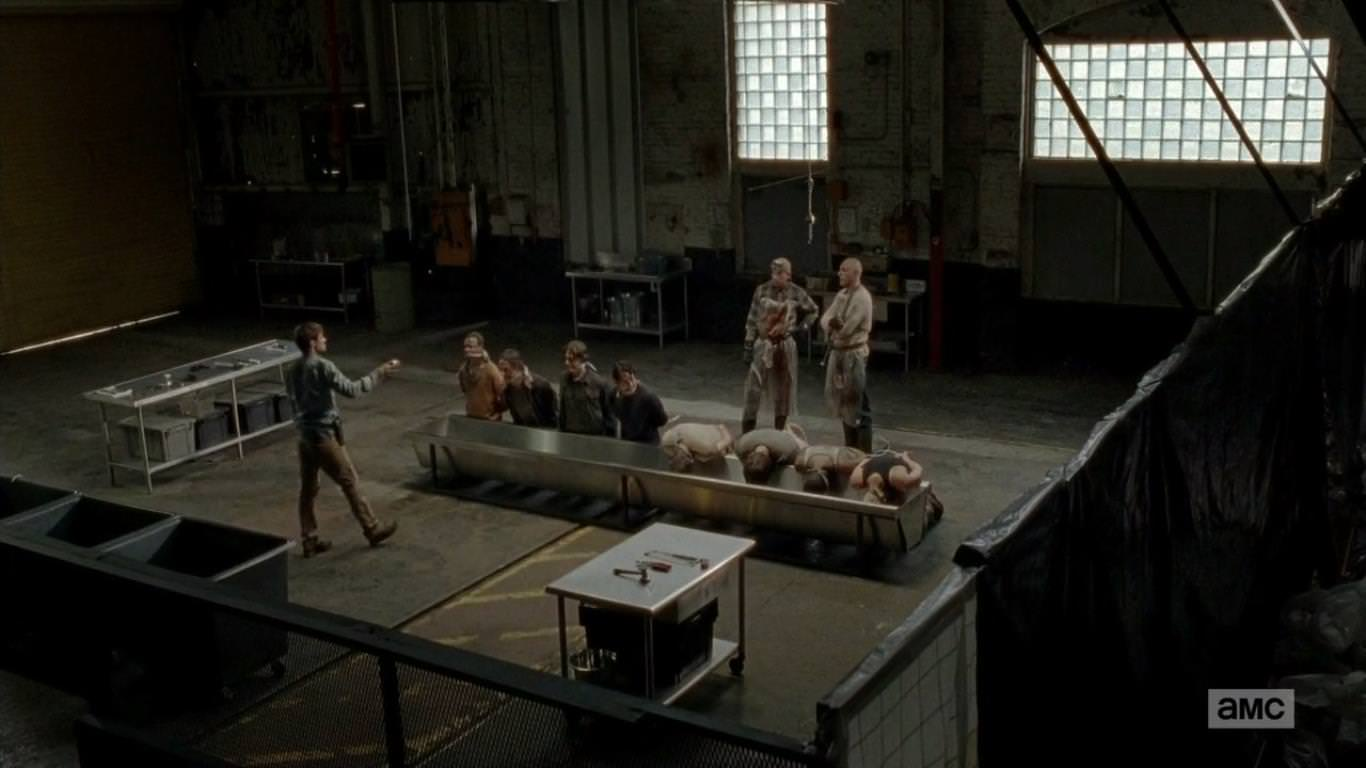 The Walking Dead 5x01 - Los supervivientes presa de los caníbales