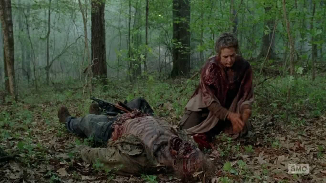 The Walking Dead 5x01 - Carol no duda en hacer lo que hay que hacerse para salvar al grupo