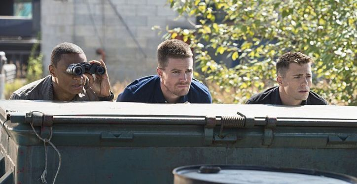 Arrow 3x03 Corto Maltese