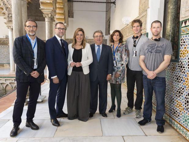 Fotos de Game of Thrones en Sevilla - Autoridades