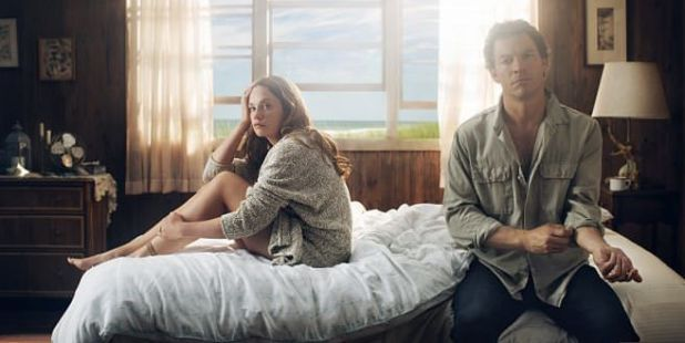 Pareja protagonista de The Affair (Showtime)