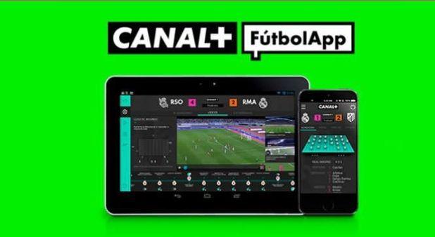 Canal+ Fútbol App llega a las cien mil descargas