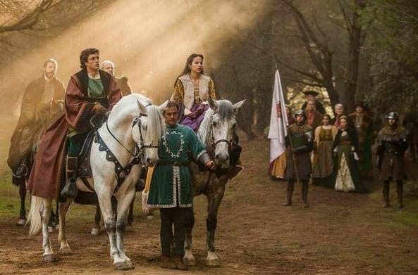 Isabel 3x09 - Felipe y Juana a su legada a la Península