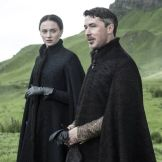 Sansa Stark y Littlefinger en la quinta temporada de Game of Thrones