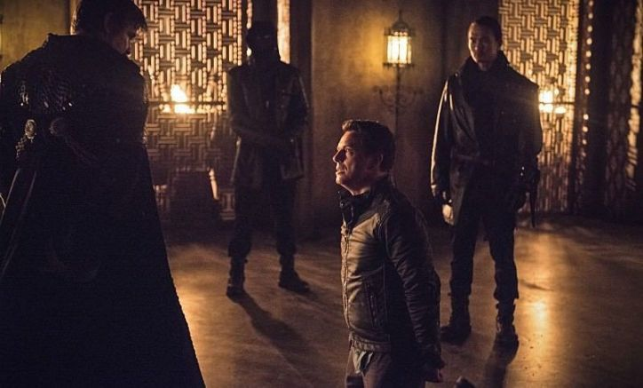 Arrow 3x15 Nanda Parbat