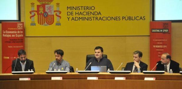 Incentivo fiscal a los rodajes en España