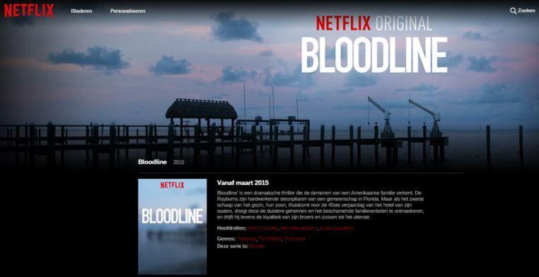 Serie Bloodline Netflix