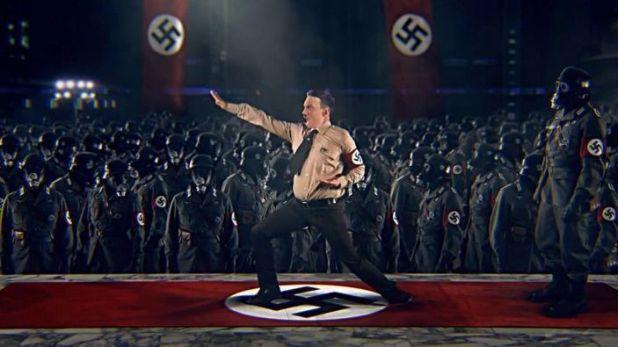 hitler vs kung fury