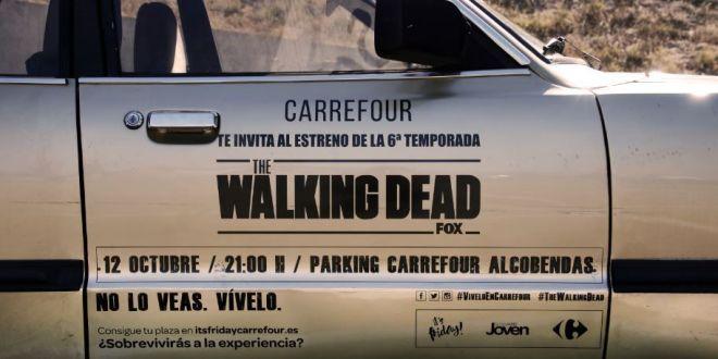 Carrefour te invita al estreno de The Walking Dead (T6)