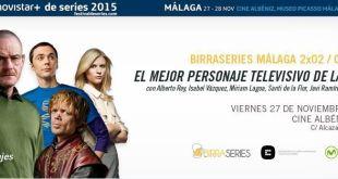 Festival de Series conoce BirraSeries Málaga