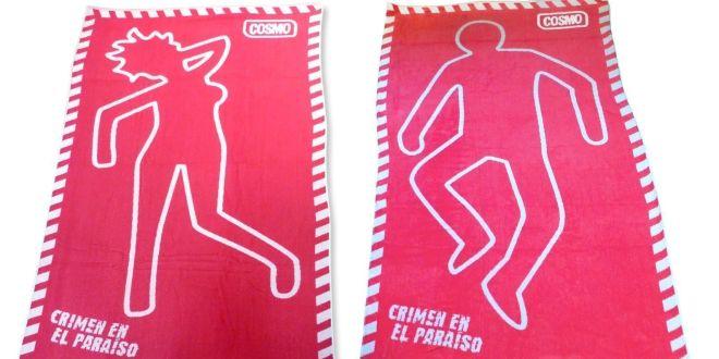 Sorteo de 3 toallas de 'Crimen y paraíso'
