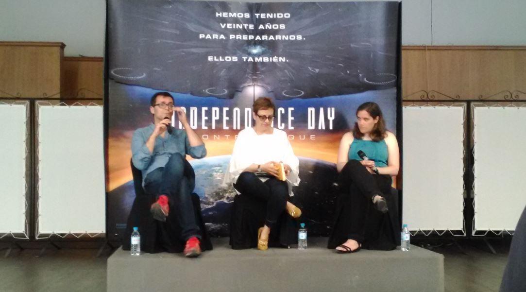 Charla de FOX Cine presentando 'Independence Day Contraataque'