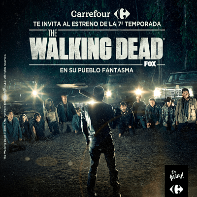 Carrefour Alcobendas te invita a ver 'The Walking Dead' (T7)
