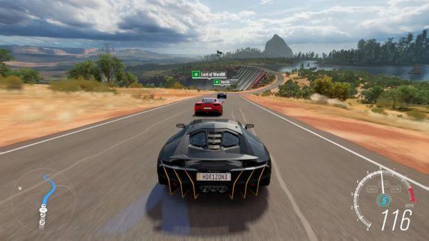 """Forza Horizon 3 te deja suelto por Australia en el coche de tu elección. Es una propuesta radicalmente diferente a la saga """"Motorsport""""."""
