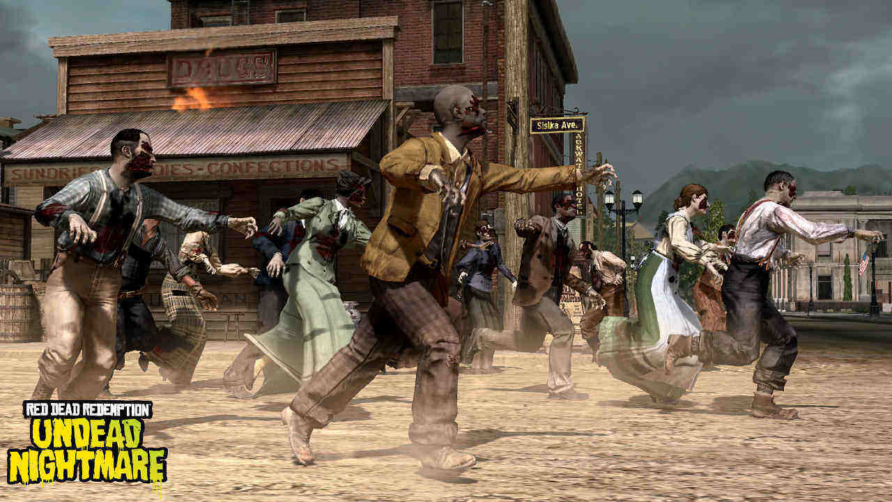 Red Dead Redemption + Zombies. Sólo eso.