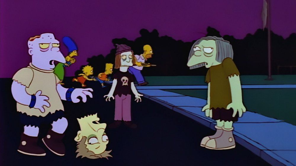 Especial Halloween, The Simpsons- Cinco episodios para morirse de risa en Halloween