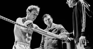 Fotograma de la película con Olli Mäki