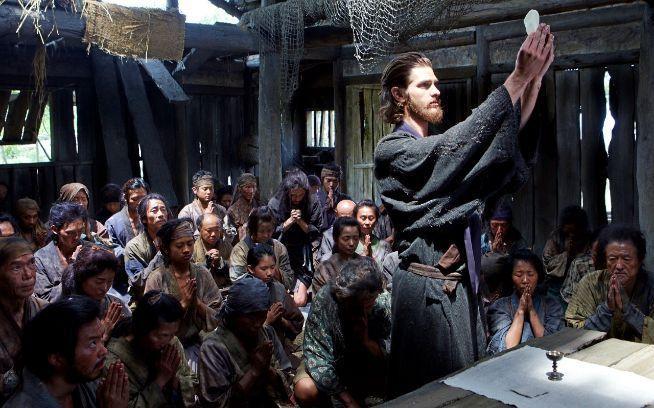 Andrew Garfield en 'Silencio'