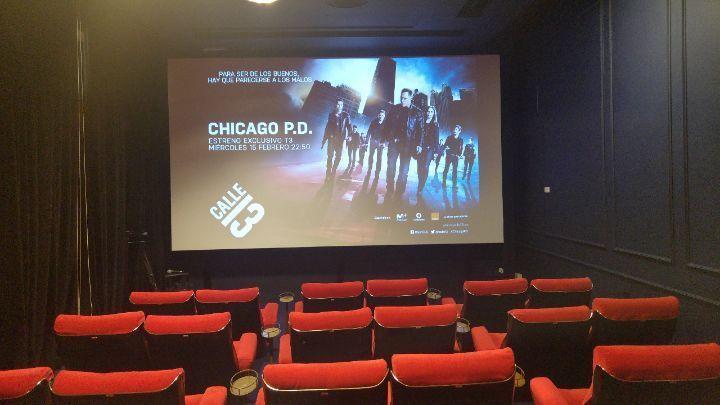 'Chicago P.D.' Sala de proyecciones