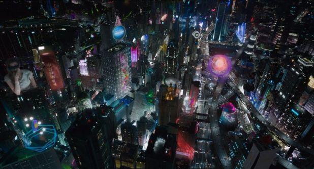 Ghost In The Shell: El alma de la máquina Japón visual 2029