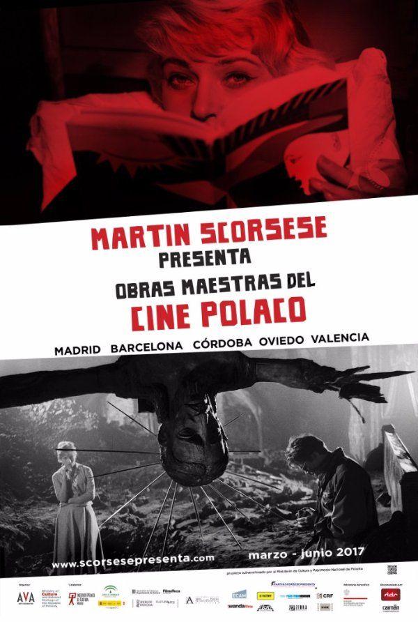 cartel promocional Martin Scorsese Presenta: Obras Maestras del Cine Polaco