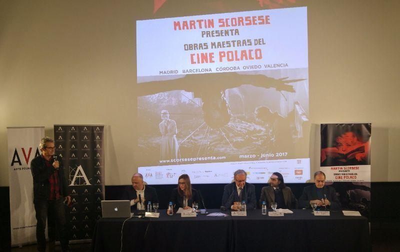 Rueda de prensa Martin Scorsese Presenta: Obras Maestras del Cine Polaco con Krzysztof Zanussi, Jedrzej Sablinski, Cesar Ballester y Fernando Lara