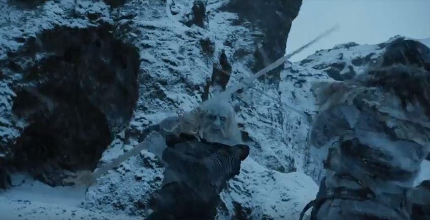 Jon Snow y los White Walker
