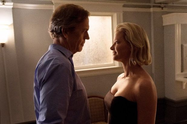 Hugh Laurie y Gretchen Mol en Chance