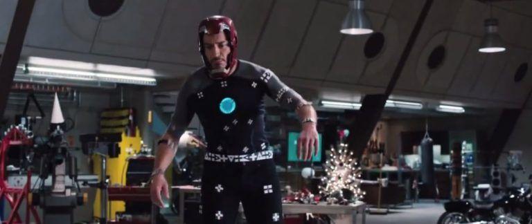 Iron Man antes de los efectos digitales