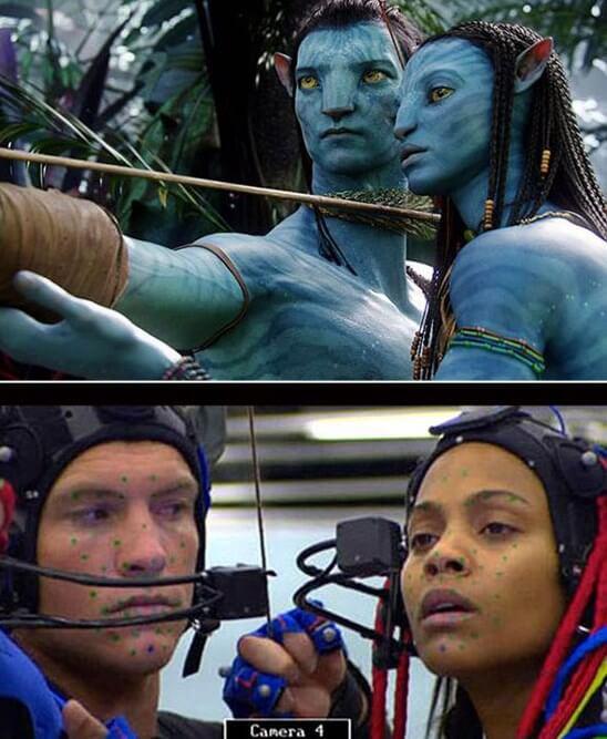 Avatar y sus efectos digitales