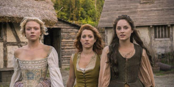 Protagonistas de 'Jamestown'