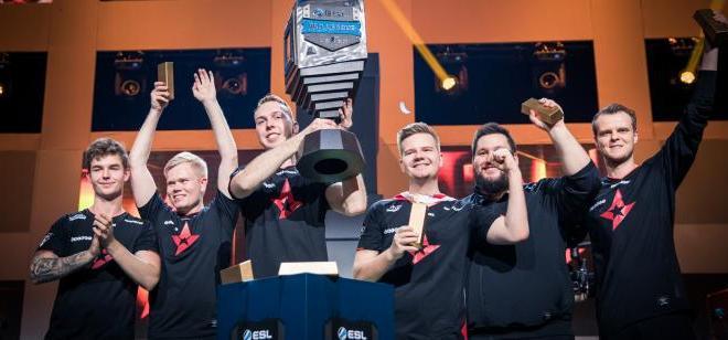 Astralis gana el primer millón de dólares del Intel(R) Grand Slam