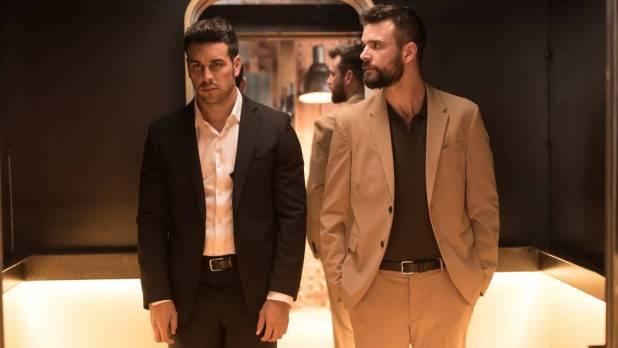 Mario Casas y Jon Arias en 'Instinto' (Movistar+)