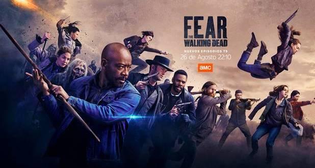 AMC estrena la segunda parte de la 5T de 'Fear the Walking Dead'