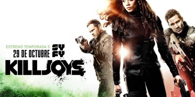 SYFY estrena el próximo 29 de octubre la temporada 5 de Killjoys