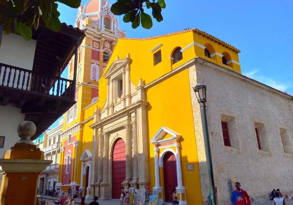 Catedral Santa Catalina de Alejandria de Cartagena de Indias - El Rincón Colombiano