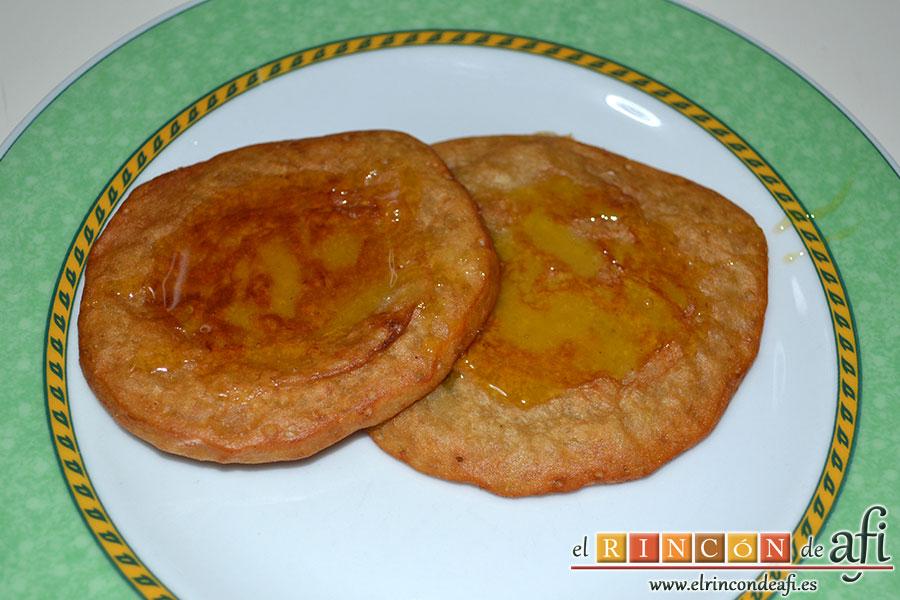 Tortitas de pltanos de Canarias