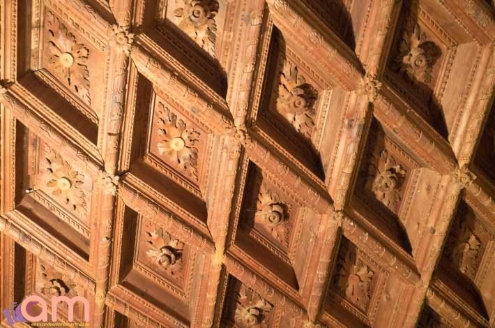 Chinchilla-Iglesia de Santa María del Salvador-Museo Parroquial-Artesonado Renacentista-3-2