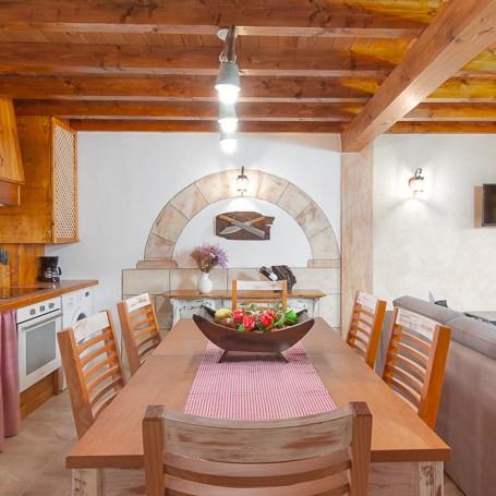 Cocina y zona salón, El rincón de Carmina.