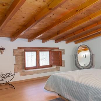 Casa Rural Cantabria El Rincón de Carmina, Habitación vista ventanas