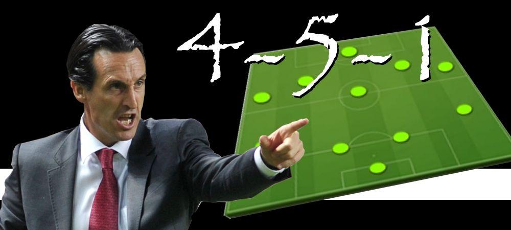 Táctica 4-5-1