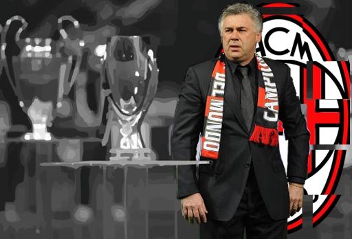 Carlo Ancelotti y el AC Milan 2006-2007. Imagen
