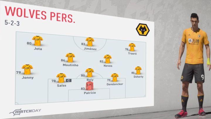 Wolverhampton 2019-2020… Análisis FIFA 20