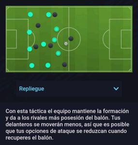 Estilo Defensivo Repliegue Fifa 21