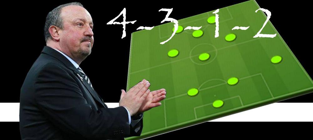 Táctica 4-3-1-2