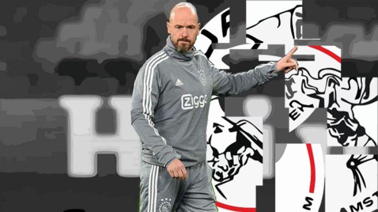 Erik Ten Hag y el Ajax 2018-19. Imagen