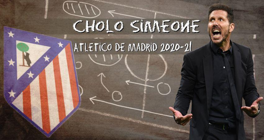 Cholo Simeone y el Atlético de Madrid 2020-21… Personaliza tu Fifa 21