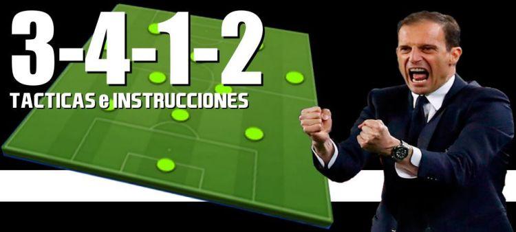 Táctica 3-4-1-2 Fifa 22