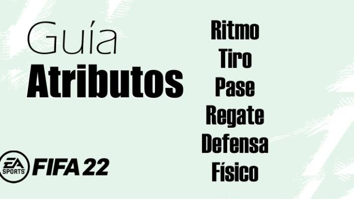 Atributos de jugadores Fifa 22